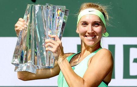 Federer va Vesnina vo dich Indian Wells sau nhung tran chung ket toan Thuy Sy, toan Nga - Anh 2
