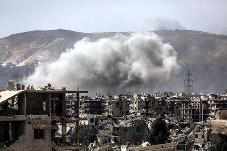 Chien su bung no o Syria - Anh 1