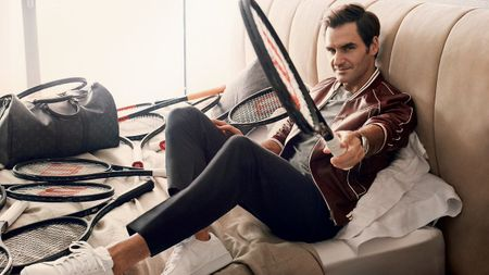 Federer xuat hien goi cam tren tap chi thoi trang - Anh 2