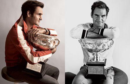Federer xuat hien goi cam tren tap chi thoi trang - Anh 6