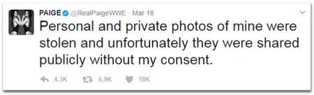 Fan len tieng bao ve sao WWE lo anh nong - Anh 1