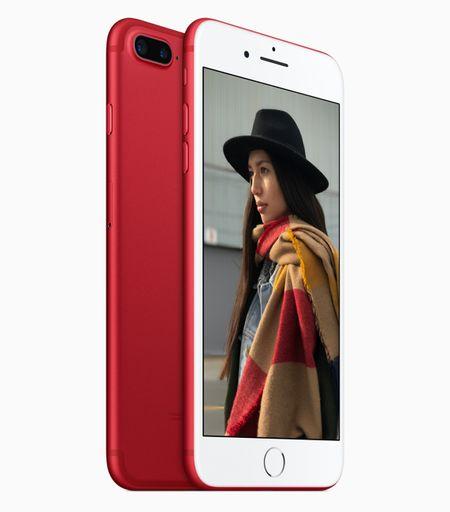 Apple chinh thuc gioi thieu iPhone 7 ban mau do - Anh 1