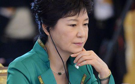 Cuu Tong thong Han Quoc Park Geun-hye xin loi dan chung Han Quoc - Anh 1