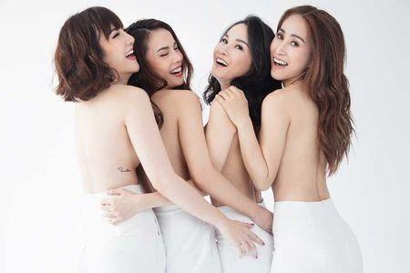 Chuyen showbiz: Yen Trang tai hop nhom May Trang, chup anh ban nude - Anh 1