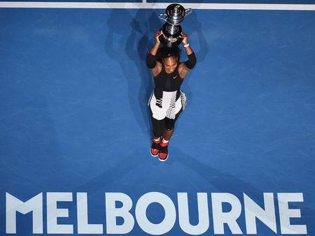 Serena vo dich Australian Open 2017 khi dang mang thai 8 tuan - Anh 1