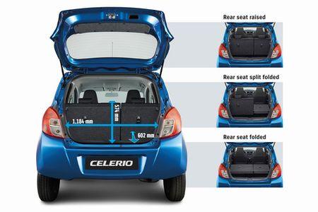 Suzuki Celerio 'doi thu' Kia Morning chot gia 254 trieu dong - Anh 8
