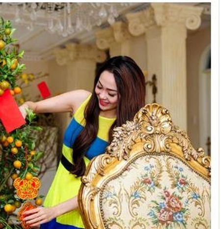 Noi that dep choang vang trong biet thu trieu do cua Minh Hang - Anh 3
