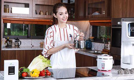 Noi that dep choang vang trong biet thu trieu do cua Minh Hang - Anh 7