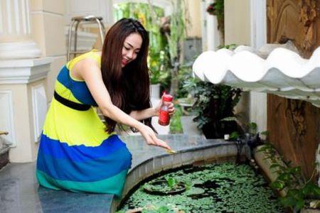 Noi that dep choang vang trong biet thu trieu do cua Minh Hang - Anh 9