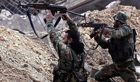 Luc luong Syria danh tan tac phien quan IS o Deir Ezzor - Anh 1