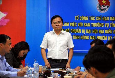 Bi thu Trung uong Doan lam viec tai Dong Nai - Anh 1