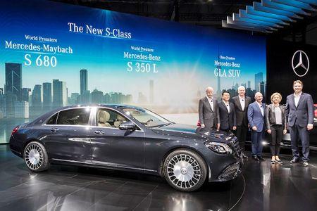 Ngam Mercedes-Maybach S 680 va S 560 'facelift' vua trinh lang - Anh 2