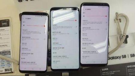 Samsung phat hanh ban va loi do man hinh tren Galaxy S8 - Anh 1