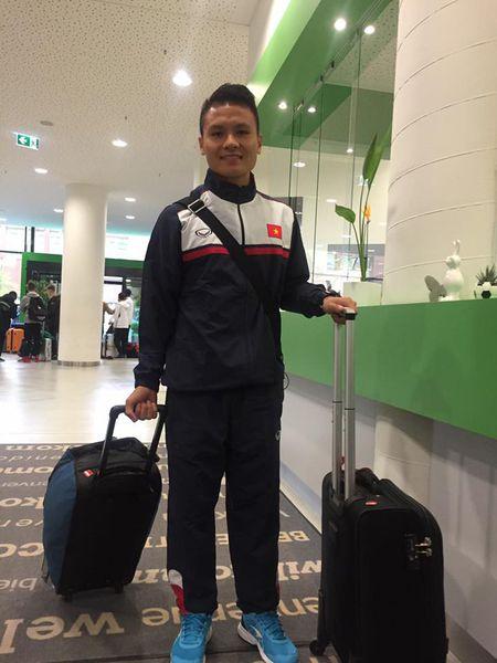 Quang Hai hoi quan, U20 Viet Nam cho dau U21 Roda JC - Anh 1
