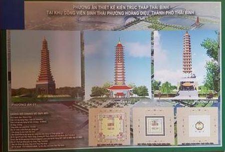 Thap Thai Binh 300 ty: Nhieu nguoi thanh dat dong gop - Anh 1