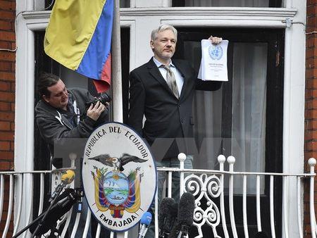 Gioi luat su hoan nghenh quyet dinh cham dut dieu tra Assange - Anh 1