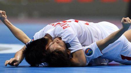 Can canh chien thang sieu kich tinh cua U20 Futsal Viet Nam - Anh 1