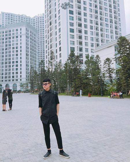 Hot boy DH Van hoa - Nghe thuat Quan doi gay sot khi cover ngot lim 'Nguoi ve tham que' - Anh 9