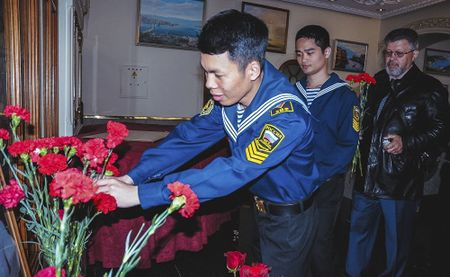 Ky niem ngay sinh Chu tich Ho Chi Minh duoc to chuc khap nuoc Nga - Anh 2