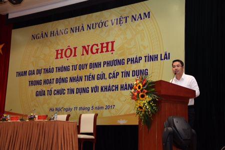 Ngan hang Nha nuoc Viet Nam: Huong toi minh bach hoa lai suat de bao dam toi da quyen loi khach hang - Anh 1