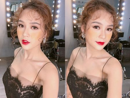 """Hotgirl Sam """"lieu linh"""" make up theo xu huong gay tranh cai tren mang xa hoi - Anh 10"""