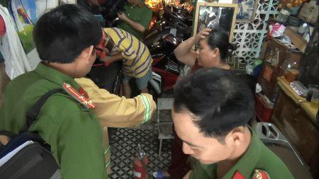 Kiem tra PCCC tren dia ban phuong Ben Thanh - Anh 3