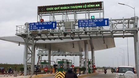 Trinh phuong an giam phi cho nguoi dan gan tram BOT trong thang 6 - Anh 1