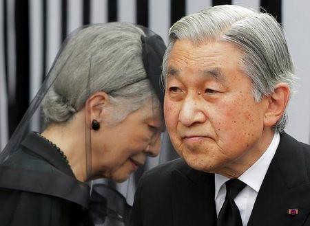 Noi cac Nhat Ban thong qua du luat cho phep Nhat hoang Akihito thoai vi - Anh 1
