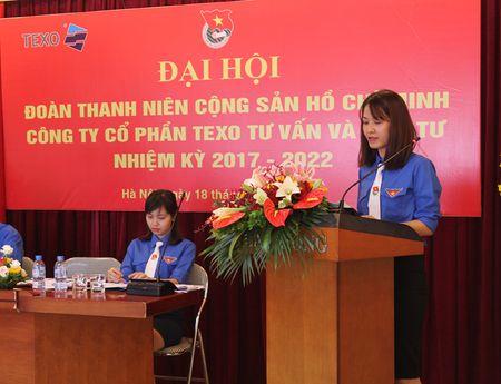 Dai hoi Doan TNCS Ho Chi Minh Cty CP Texo Tu van va dau tu khoa I - Anh 1