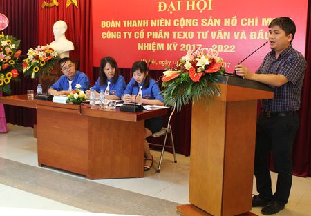 Dai hoi Doan TNCS Ho Chi Minh Cty CP Texo Tu van va dau tu khoa I - Anh 2