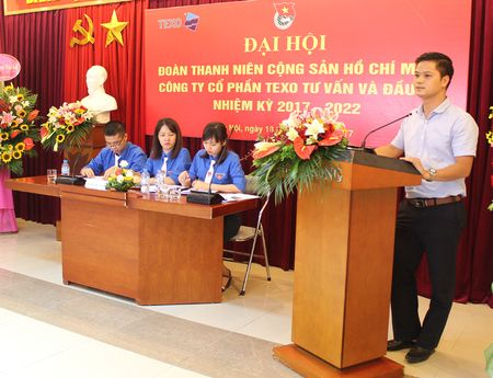 Dai hoi Doan TNCS Ho Chi Minh Cty CP Texo Tu van va dau tu khoa I - Anh 3