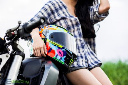 Honda MSX125 do khung sanh buoc cung hot teen Sai Gon - Anh 11