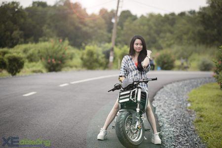 Honda MSX125 do khung sanh buoc cung hot teen Sai Gon - Anh 14