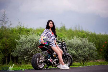 Honda MSX125 do khung sanh buoc cung hot teen Sai Gon - Anh 19