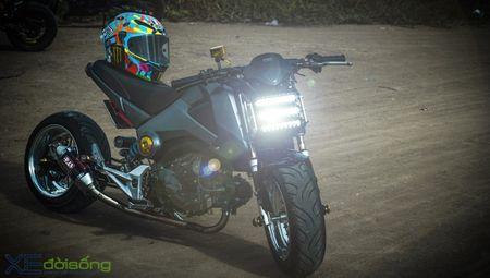 Honda MSX125 do khung sanh buoc cung hot teen Sai Gon - Anh 1