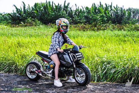 Honda MSX125 do khung sanh buoc cung hot teen Sai Gon - Anh 23
