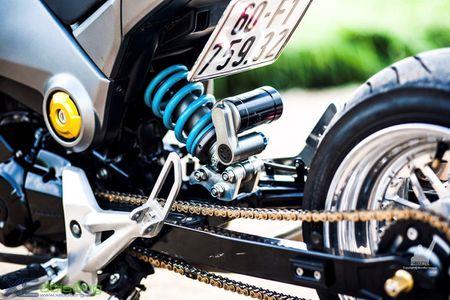 Honda MSX125 do khung sanh buoc cung hot teen Sai Gon - Anh 4