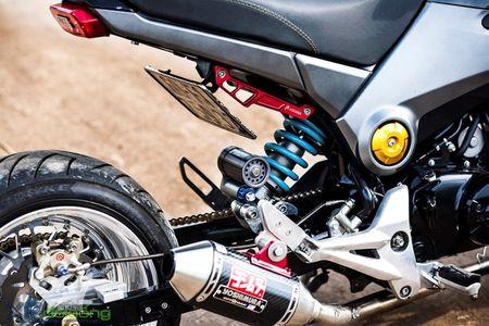 Honda MSX125 do khung sanh buoc cung hot teen Sai Gon - Anh 5
