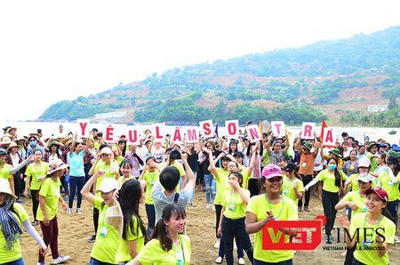 Da Nang: Ngan sinh vien keu goi khong mang tui ni-long len Son Tra - Anh 1