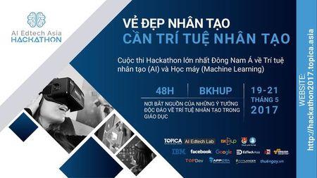 Cuoc thi Hackathon tai Viet Nam nhan 300.000 USD tu cac ong lon Google,Facebook... - Anh 1