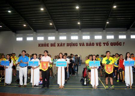 Khai mac Hoi thao Cum thi dua CNVCLD khoi quan, huyen TP. Da Nang - Anh 1