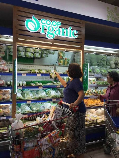 San pham organic hut khach tai he thong sieu thi Co.opmart - Anh 1