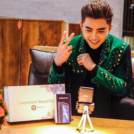 Kaity Nguyen, Will lam guong mat dai dien cho ZenFone Live - Anh 3