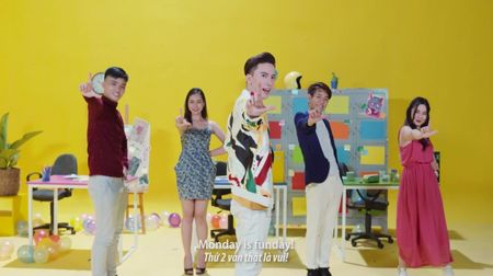 S.T tung MV 'Monday is funday', remix ca nhac thieu nhi - Anh 1