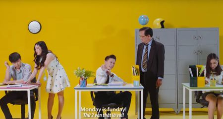 S.T tung MV 'Monday is funday', remix ca nhac thieu nhi - Anh 6