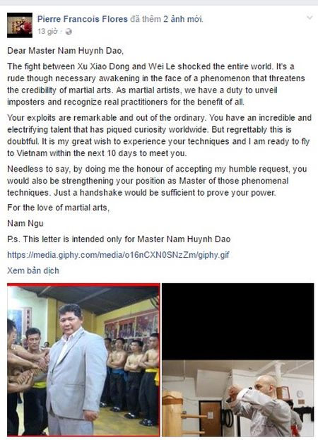 Vo su Vinh Xuan khieu chien Chuong mon Nam Huynh Dao - Anh 1