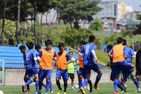 U20 Viet Nam tap nhu len dong cho dau U20 New Zealand - Anh 10