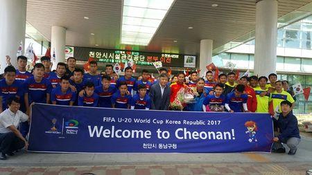 U20 Viet Nam tap nhu len dong cho dau U20 New Zealand - Anh 2