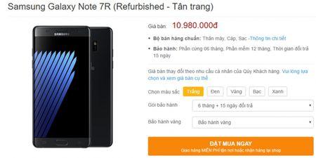 Samsung Galaxy Note7R ve Viet Nam tu cuoi thang 5, gia 10,98 trieu - Anh 1