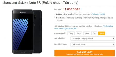 Samsung Galaxy Note7R ve Viet Nam tu cuoi thang 5, gia 10,98 trieu - Anh 2